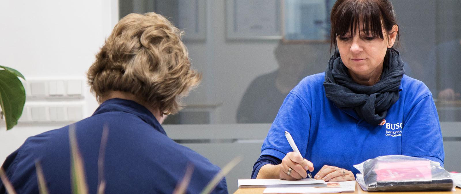 BUSCH. Orthopädietechnik und Sanitätshaus in Halle (Saale) – Für Patienten
