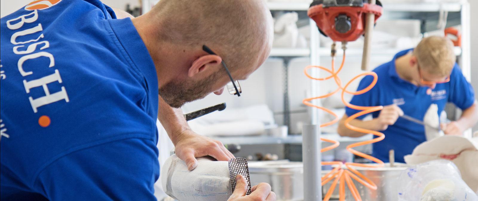 BUSCH. Orthopädietechnik und Sanitätshaus in Halle (Saale) – Silikontechnik